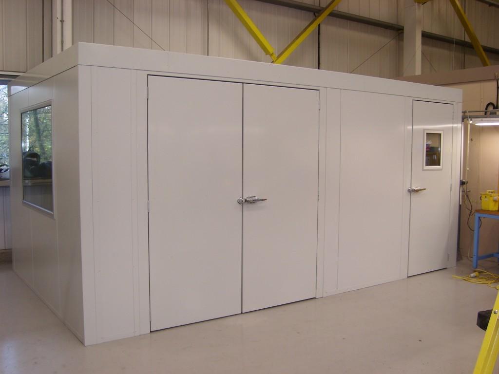 Acoustic Enclosure For Test Rig Amp Pressure Test Process