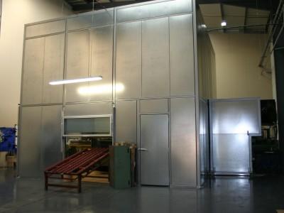 Perforating Press Enclosure