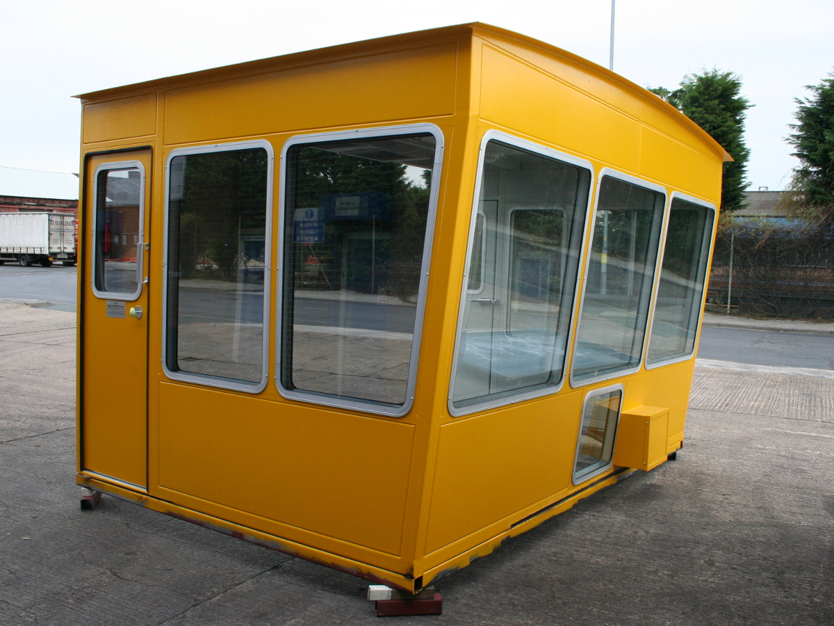 Acoustic Enclosure for drivers cabin