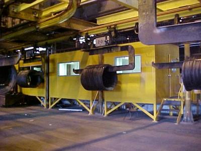 Line stock taker control facility