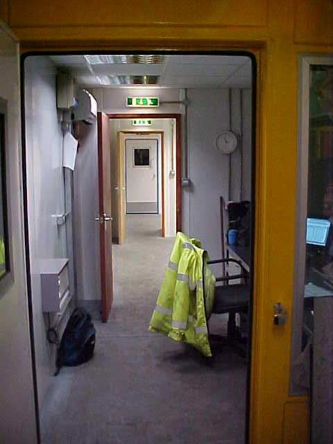 Acoustic enclosure work area
