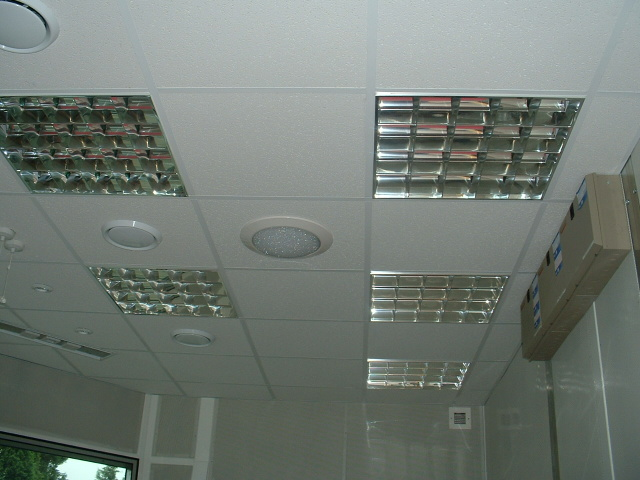 false ceiling in acoustic pulpit